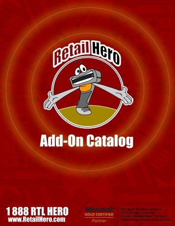 Add-On Catalog - Retail Hero
