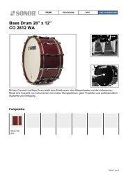 Bass Drum 28