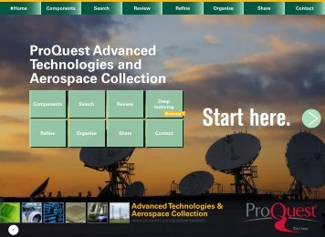 Advanced Technologies & Aerospace Collection - ProQuest