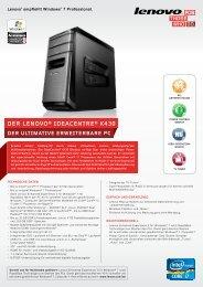 DER LENOVO® IDEACENTRE® K430 - Lenovo | US