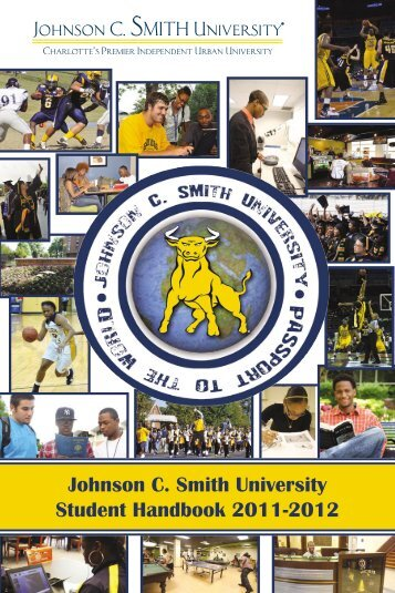 Johnson C. Smith University Student Handbook 2011-2012