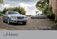 Die E-Klasse. - Mercedes-Benz