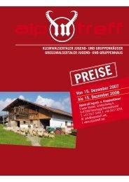 Von 15. Dezember 2007 bis 15. Dezember 2008 - Alpintreff.net