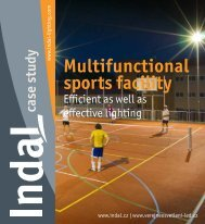 Multifunctional sports facility - Indal