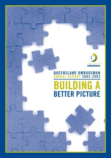 2002-2003 Queensland Ombudsman Annual Report