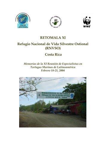 RETOMALA XI Refugio Nacional de Vida Silvestre ... - Eco-Index