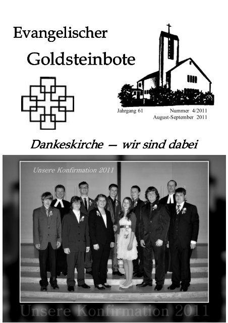 klaug.-Sept. 2011-32 - Dankeskirchengemeinde Goldstein
