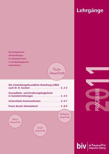 PROGRAMM - Basale Stimulation eV