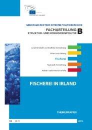 fischerei in irland themenpapier - European Parliament - Europa