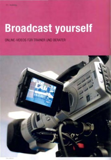 Broadcast Yourself - experts4events