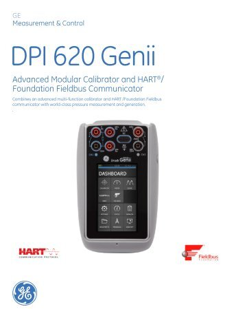 Advanced Modular Calibrator and HART®/ Foundation ... - Insatech