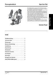 Technische Daten Ergoline Open Sun Pilot