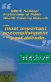 Keeping Track, Promoting Health - National Environmental Public ... - Page 2