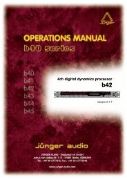 B42 manual EN 070904 02.pdf - Jünger Audio