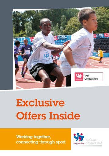 Exclusive Offers Inside - Youth Sport Trust