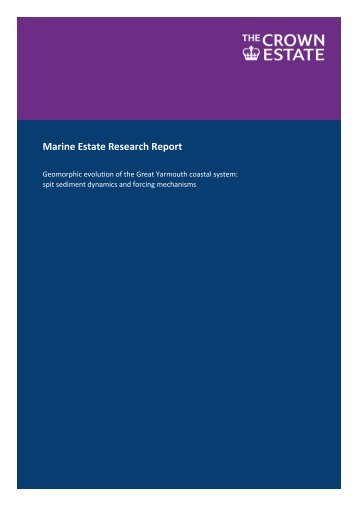 Marine Estate Research Report - National Maritime Museum