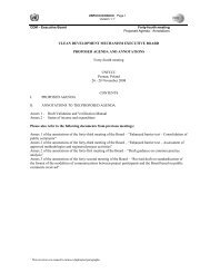 Annotations to the proposed agenda - CDM