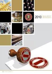 Download the Tanzania Breweries Ltd 2010 Annual ... - SABMiller