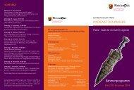 Flyer (pdf) - Generaldirektion Kulturelles Erbe Rheinland-Pfalz