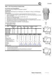 71.111/1 Sauter Components AK41...43 P: Pneumatische Stellantriebe