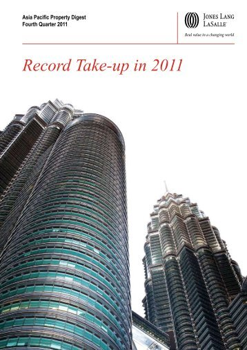 Record Take-up in 2011 - Jones Lang LaSalle