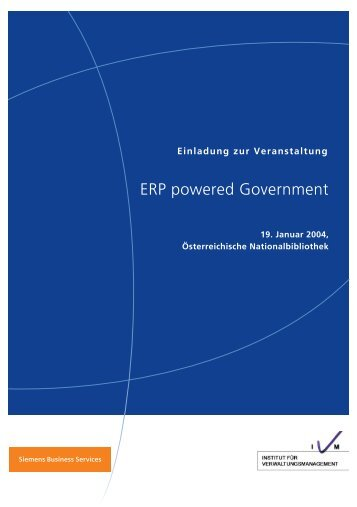 ERP powered Government