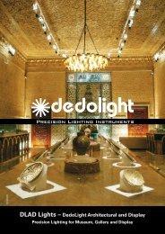 DLAD Lights – DedoLight Architectural and Display - Dedotec Schweiz