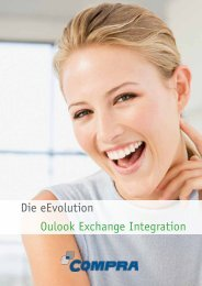 eevolution Outlook Exchange Integration - COMPRA Gmbh