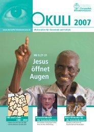 100 Jahre CBM 100 Jahre CBM 12 - Christoffel-Blindenmission