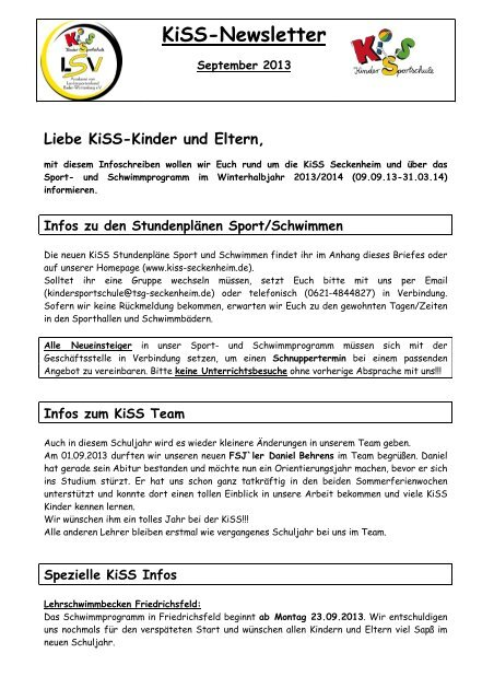 Download Der Kiss Seckenheim