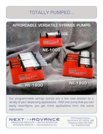 Syringe Pumps.pdf - BioFrontier Technology