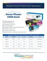 Xerox Phaser 6500-Serie - Katun