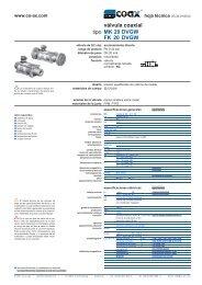 tipo válvula coaxial MK 20 DVGW FK 20 DVGW - müller co-ax ag