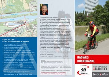 Folder Donaukanalradweg - Knollconsult