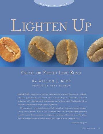 Lighten UP - Roast Magazine