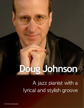 A jazz pianist with a lyrical and stylish groove - Sue Auclair Promotions
