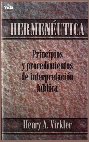 Henry A Virkler Hermeneutica - OpenDrive