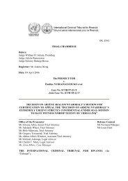 decision on arsène shalom ntahobali - International Criminal ...