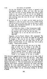 The Gospel of Matthew Vol. 2 Part 2 - Only The Word