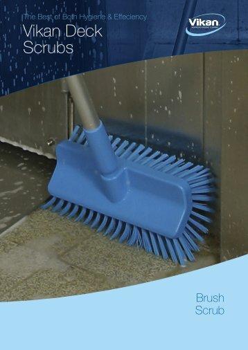 Vikan Deck Scrubs - Tisztitastechnologia.hu