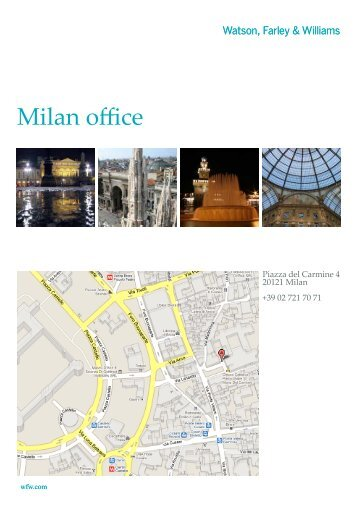 Milan office - wfw.com