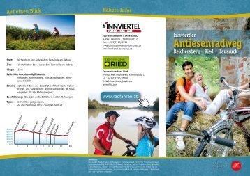 Folder Antiesenradweg