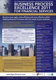 The Leading Global Process Excellence event series for - IQPC.com