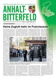 Ausgabe 23 vom 6. Dezember 2013 - Landkreis Anhalt-Bitterfeld