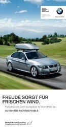 FREUDE SORGT FÜR FRISCHEN WIND. - Autohaus Richard Hable