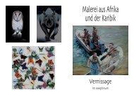 Malerei aus Afrika xpress - Alumni Club Medizinische Universität Wien