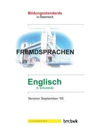 Englisch - Österreichisches-Sprachen-Kompetenz-Zentrum
