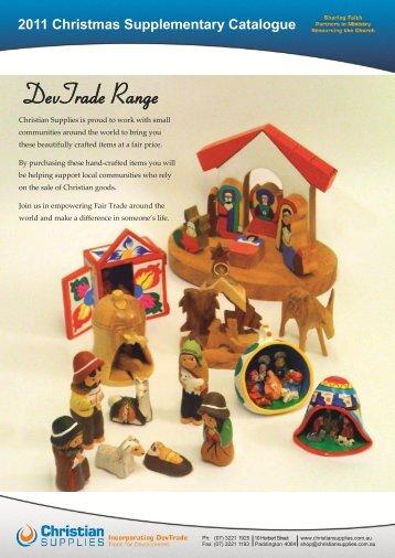 2011 Christmas Supplementary Catalogue - Christian Supplies