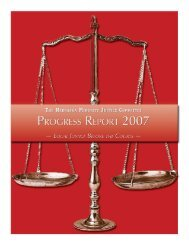 Progress Report Single Pages.qxd - Nebraska Judicial Branch