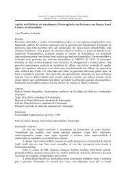 Análise da Eficiência do Atendimento Fisioterapêutico em Pacientes ...